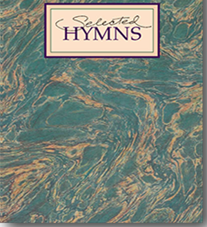 LDS Selected Hymns book cover